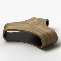 3d pants coffee table model