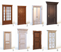 Collection of classic doors