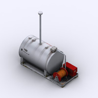 max low-poly 750l fuel tank