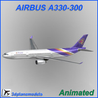 Airbus A330-300 Thai International Airways