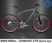 BMW MBike with SHIMANO XTR Dyna-sys