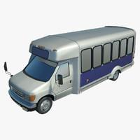 3d bus budget