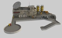 gordon s space dock 3d model