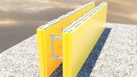 masonry greenblock 3d model