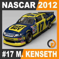 Nascar 2012 Car - Matt Kenseth Ford Fusion #17