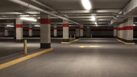 parking level 3d 3ds