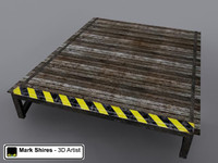 Wooden Stunt Ramp