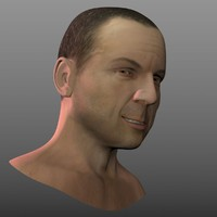 Bruce Willis head