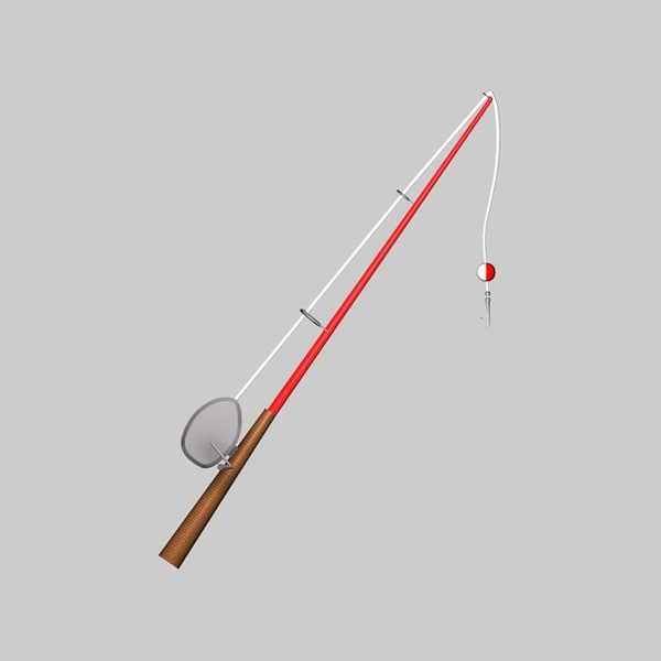 3d fishing rod - Fishing rod... by Swivaller