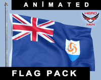Anguilla Flag (animated)