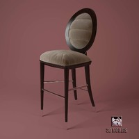 giorgio bar chair 3d model