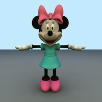 minnie mouse obj