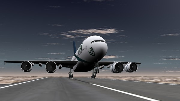 cinema4d pia a380 - PIA A380... by umair2299