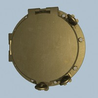 3d model ship porthole