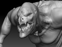 sand monster creature 3d 3ds