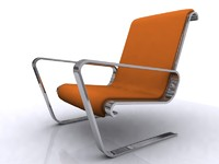 chair seating furniture 3d 3ds