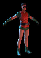 3d model super hero