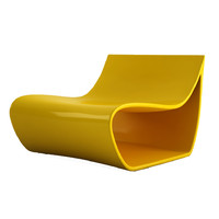 maya mdf italia sign armchair