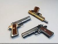 3d pistol gun colt