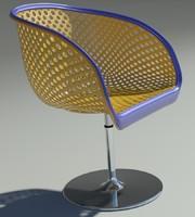 3d model areta chair
