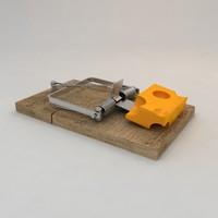 trap rat 3d model