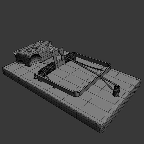 trap rat 3d model - Rat Trap... by met_out