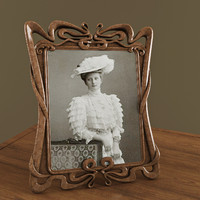 Photo Frame Art Nouveau