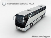 3d model mercedes-benz 0403 shd bus