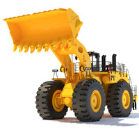 3d wheel loader model