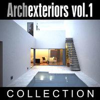 3d model archexteriors vol 1