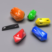 Barrel Dice Set
