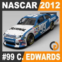 Nascar 2012 Car - Carl Edwards Ford Fusion #99