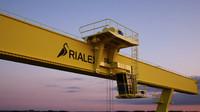 3d crane coal model