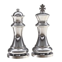 eichholtz chess king queen 3d max