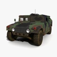 3d humvee model