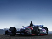 indy dallara car 3d model