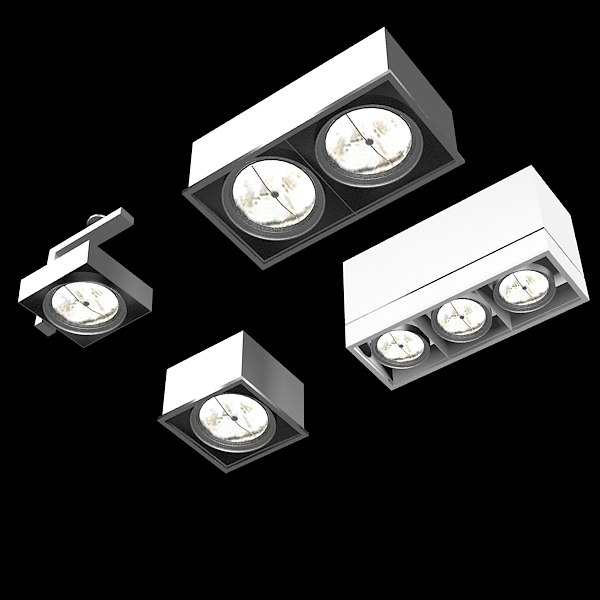 ceiling spot light 3d model