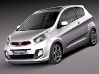 maya kia picanto 2013 city car