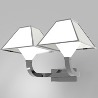 3d wall lamp