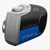 Olympus M Mini Blue