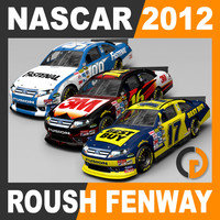 Nascar 2012 Pack - Roush Fenway Racing Team Cars