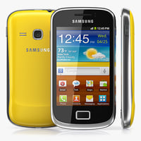3d samsung galaxy mini 2 model