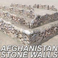 Afghanistan Stone Walls