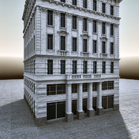 3d model of european architecture buildings europe