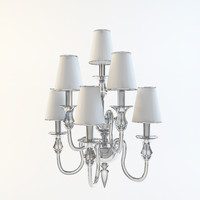 3d sconce majo 2599 lights model