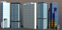 3d building rise model