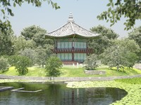 Korean Traditional Pavilion