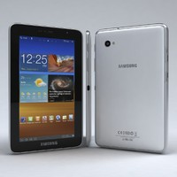 3d model of samsung galaxy tab 7