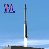 rafael missile stunner s 3d dxf
