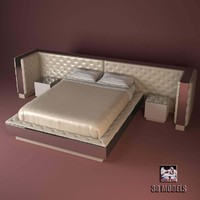 visionnaire magnolia bedroom 3d model
